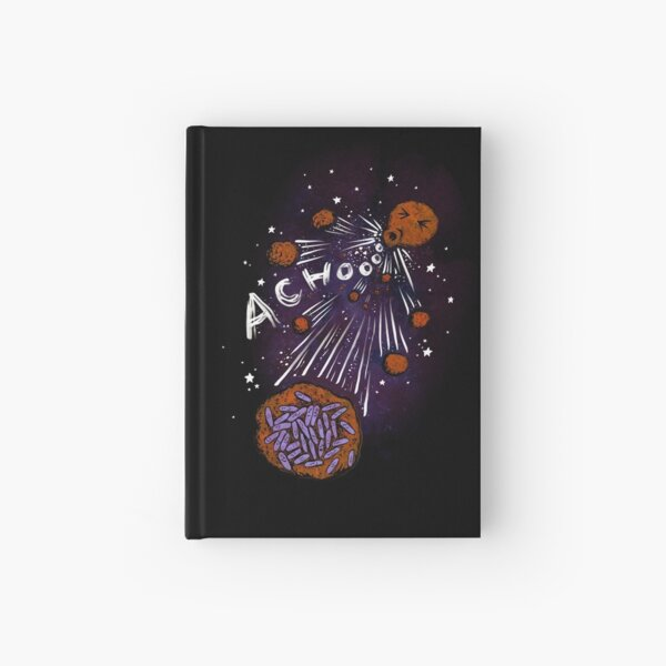 Asteroid day - the big sneeze Hardcover Journal