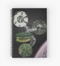 Chymical Station: Escape into Space Spiral Notebook