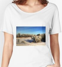 NATURE'S BRUSH  Women's Relaxed Fit T-Shirt