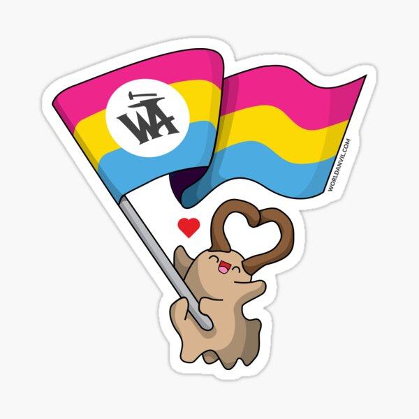 Pansexual Pride Udan Sticker