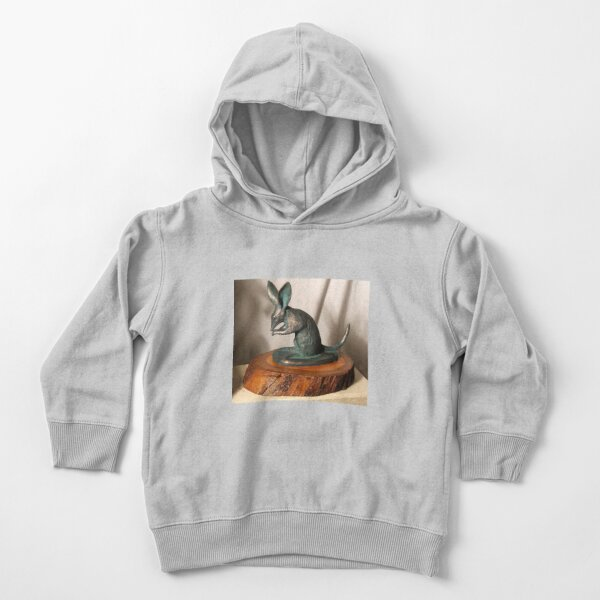 Bilby - sculpture by Avril Thomas Toddler Pullover Hoodie