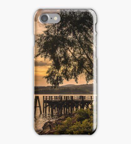 Verplanck Point Sunset  iPhone Case/Skin
