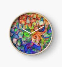 #Deepdreamed abstraction Clock