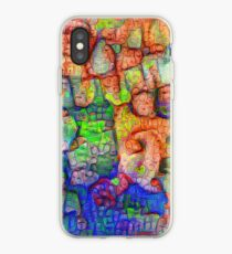 #Deepdreamed abstraction iPhone Case