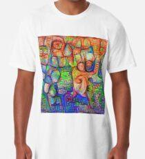 #Deepdreamed abstraction Long T-Shirt