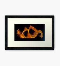 Lava Cave Framed Print