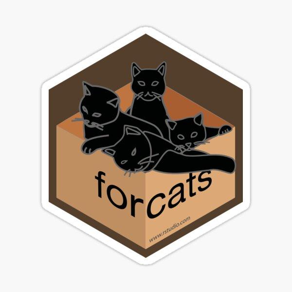 R rstudio forcats hex Sticker