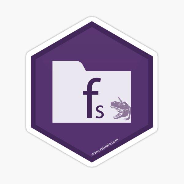 R rstudio fs hex Sticker