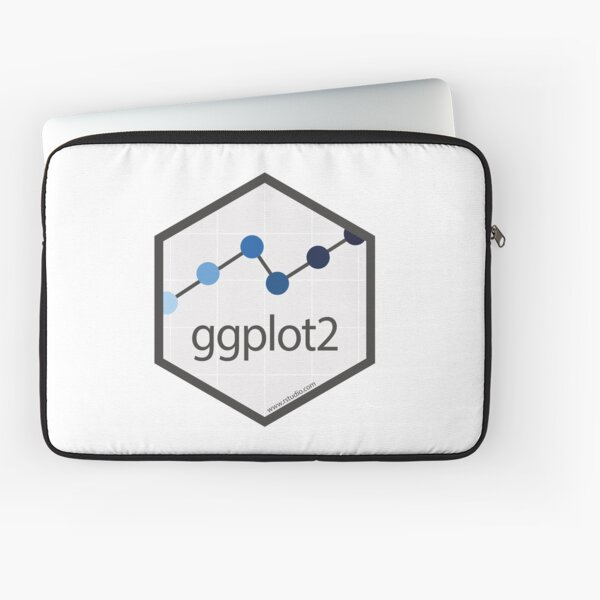 R rstudio ggplot2 hex Laptop Sleeve