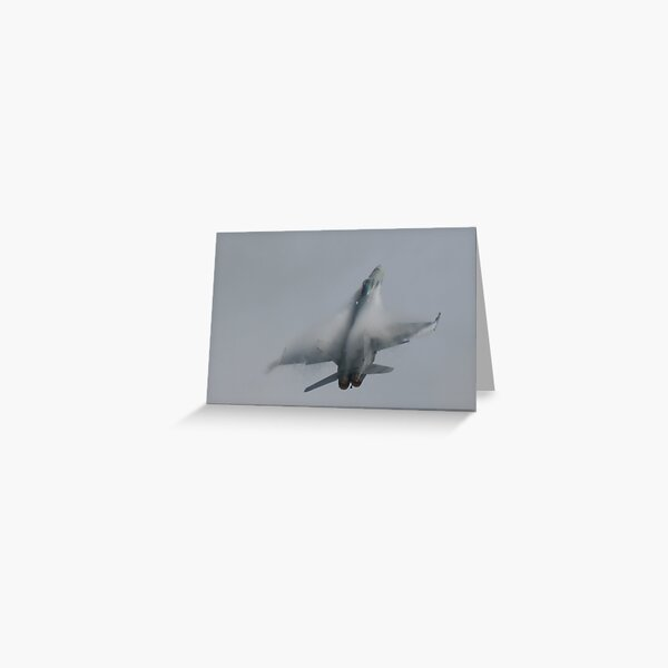 F18 Hornet Greeting Card