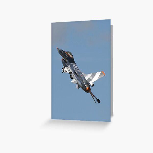 F-16 Fighting Falcon Greeting Card