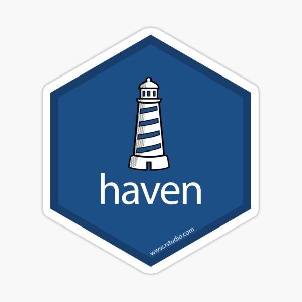 R rstudio haven hex Sticker