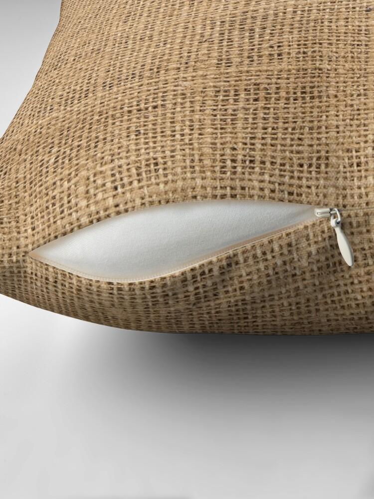 Alternate view of Burlap Floor Pillow