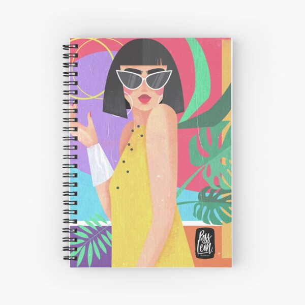 Chica Caribe Spiral Notebook