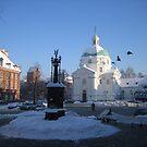 St. Kazimierz Church in Warsaw, Poland by Lukasz Godlewski