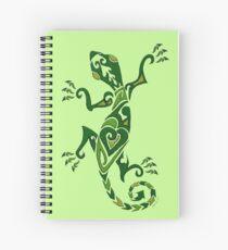 Lizard Tattoo -textured Spiral Notebook