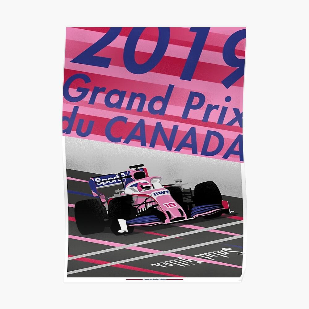 Grand Prix von Montreal 2019 Poster