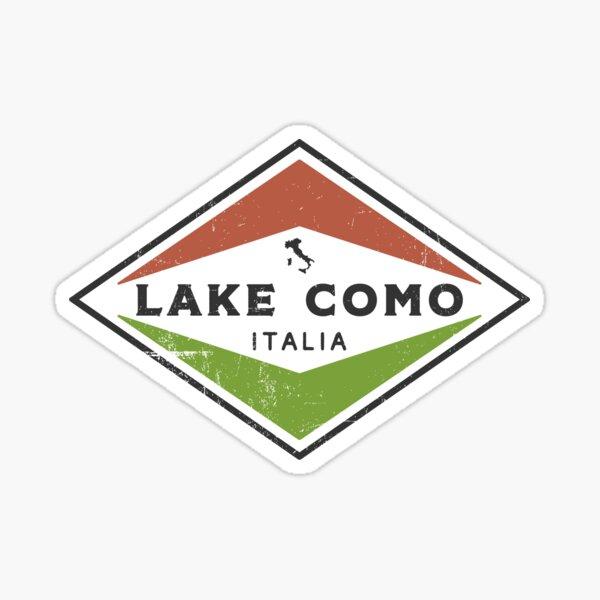 Vintage Lake Como Italia  Sticker