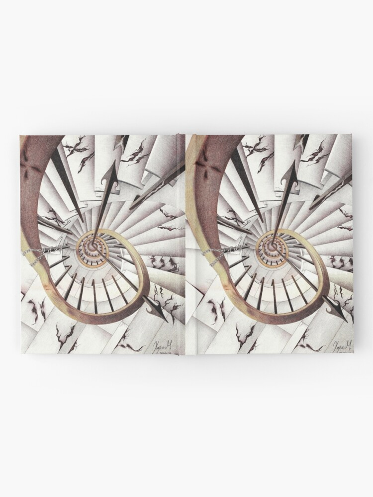 Alternate view of Stopping Time Hardcover Journal