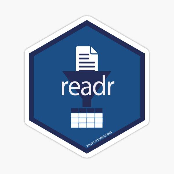 R readr hex Sticker