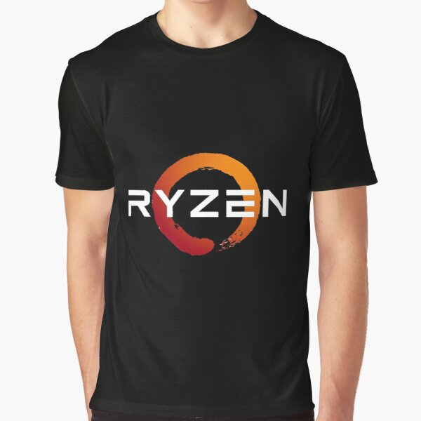 Ryzen 3 logo - done in white for darker backgrounds Graphic T-Shirt