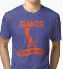 San Francisco Giants Never Say Die Tri-blend T-Shirt
