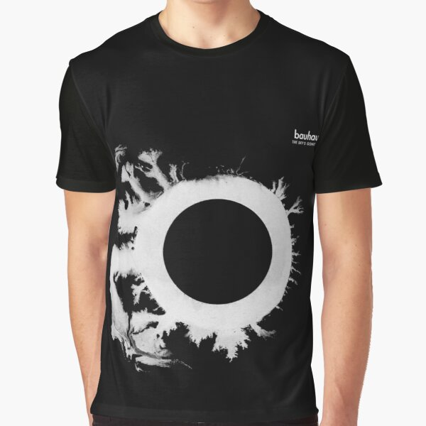 Bauhaus the sky's gone out post punk 80s retro black and white artwork Graphic T-Shirt