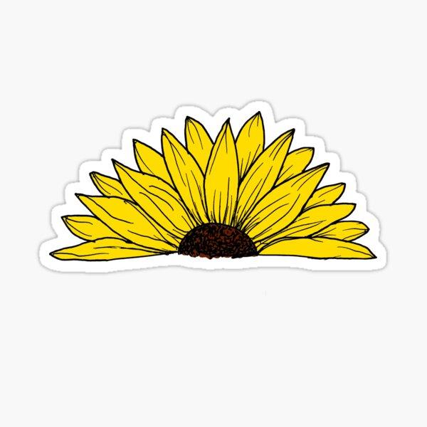 Daisy Doodle Sticker