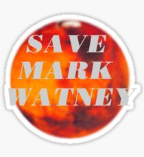 Save Mark Watney  Sticker