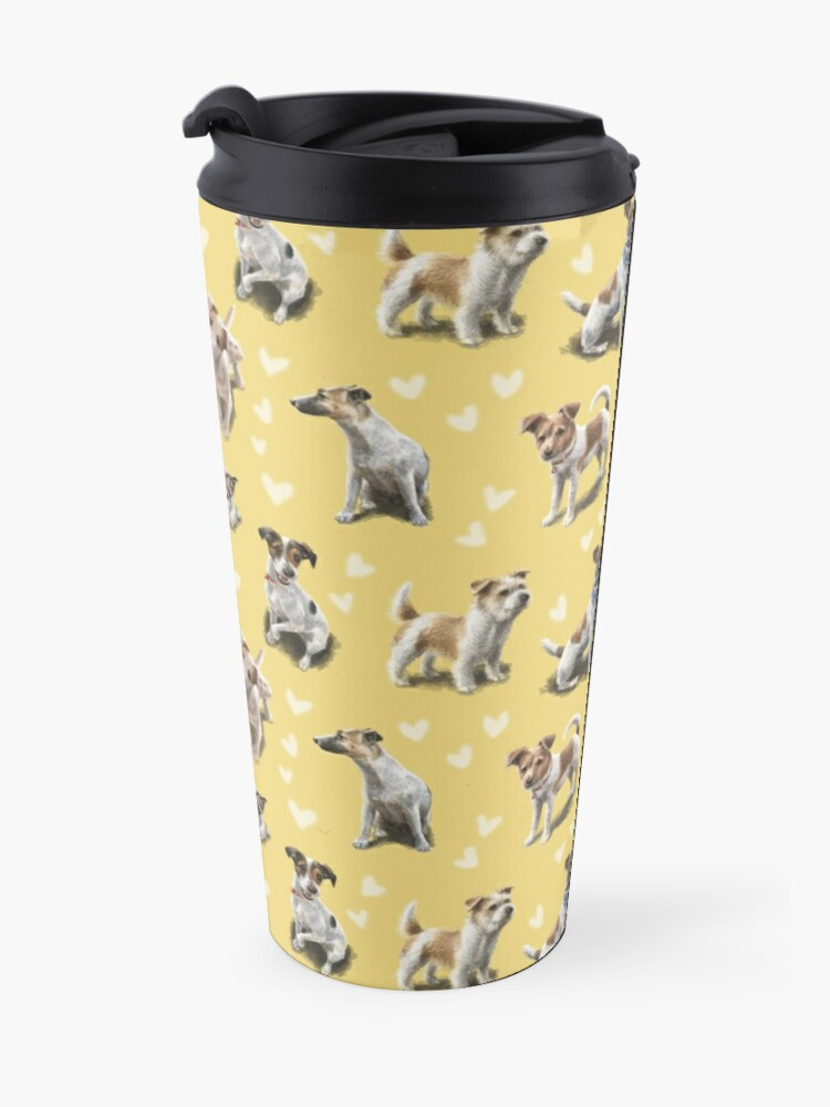 Alternate view of The Jack Russell Terrier Travel Mug