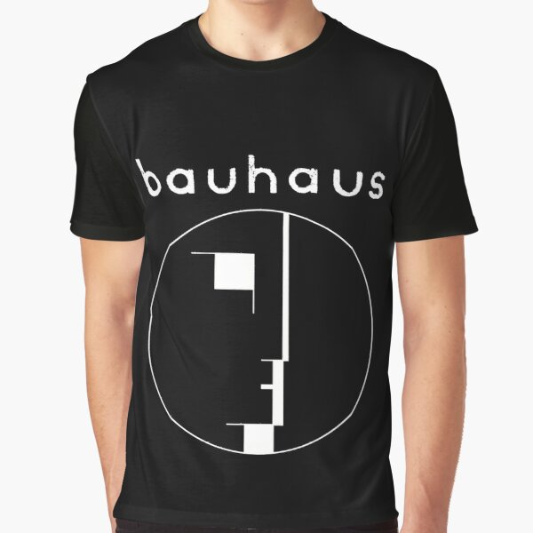 Bauhaus post punk 80s retro white version Graphic T-Shirt