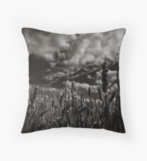 One so small against the world Throw Pillow