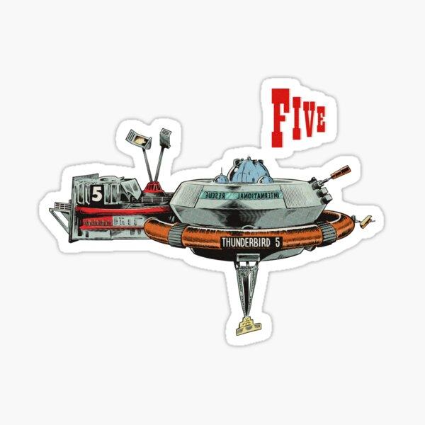 Thunderbird 5 Sticker