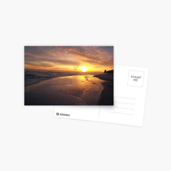 Orange Beach Sunset 1 Postcard