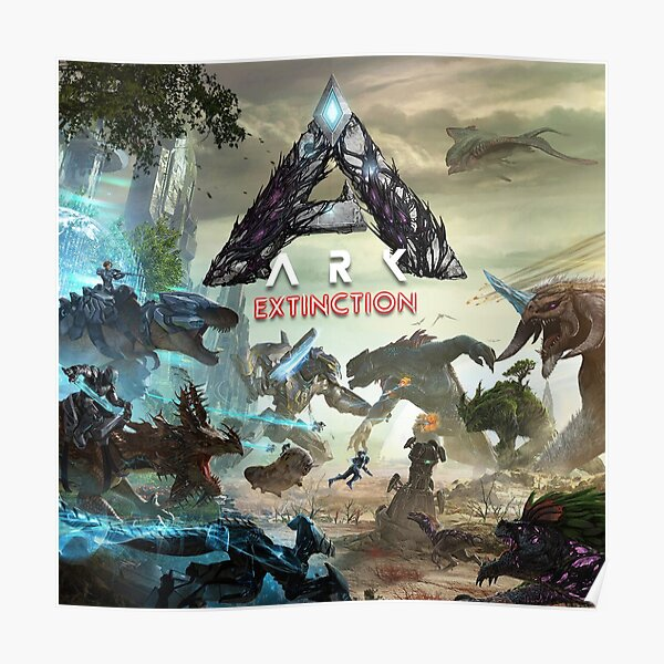 Ark Extinction Póster