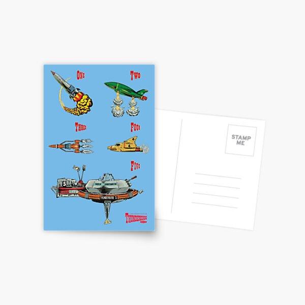 Thunderbirds are GO! Postcard