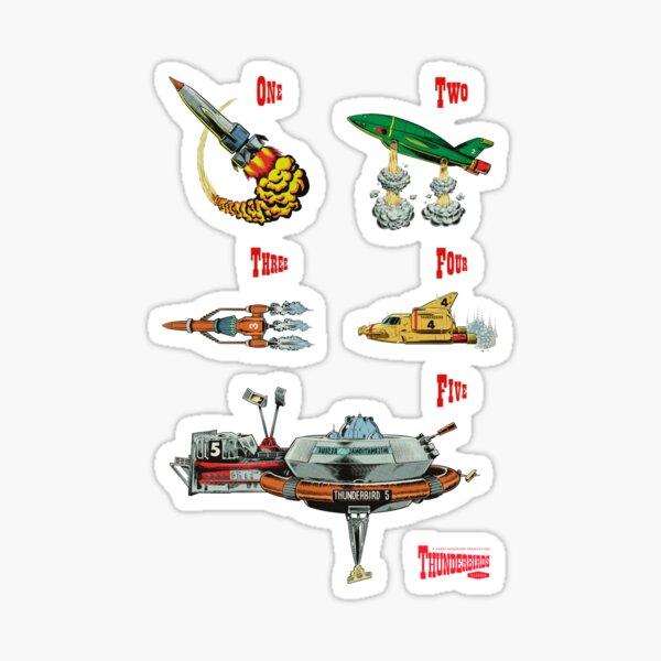Thunderbirds are GO! Sticker