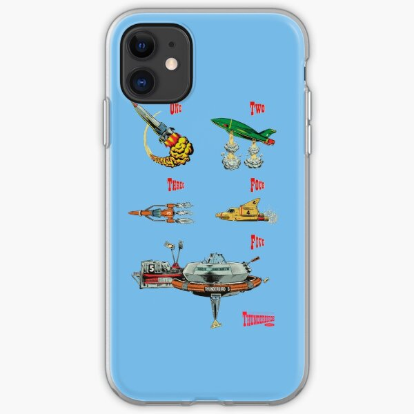 Thunderbirds are GO! iPhone Soft Case