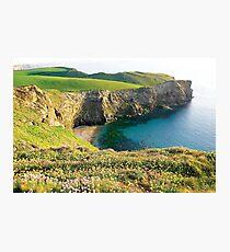 Beacon Cove - Cornwall. Photographic Print