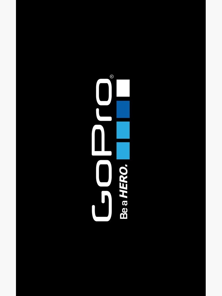 Gopro Logo Black Fan Art de BurningRabbit