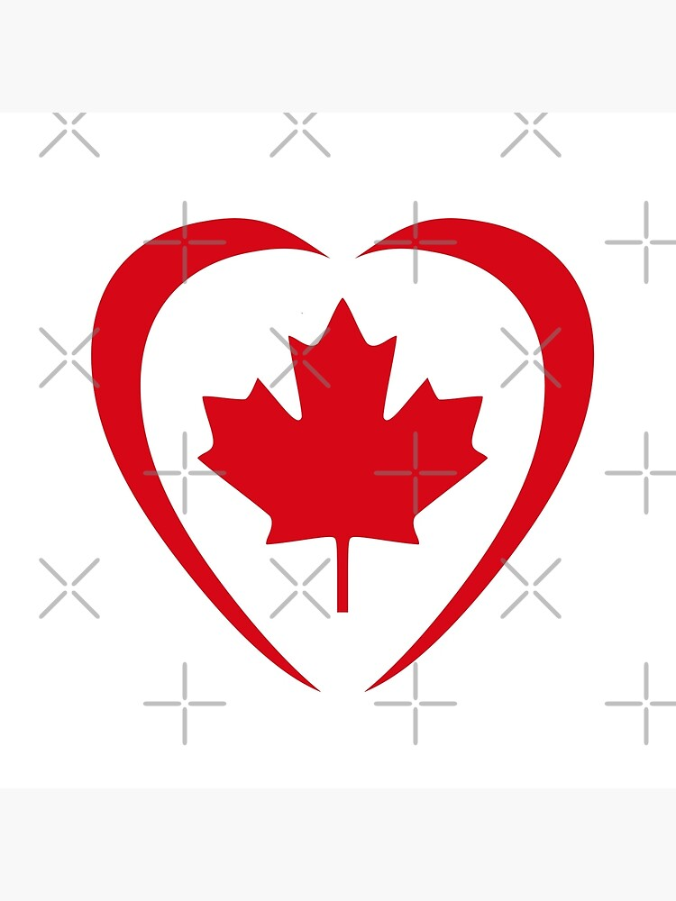 Canadian Patriot Flag Series (Heart) by carbonfibreme
