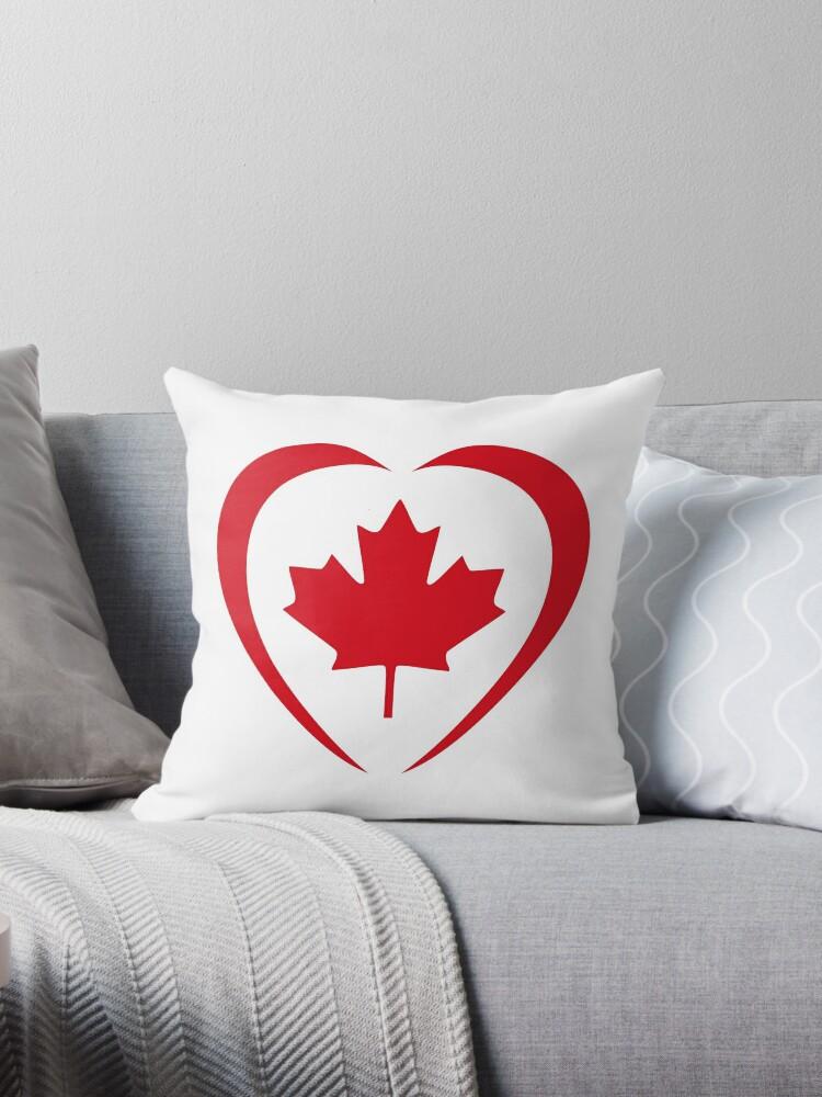 Canadian Patriot Flag Series (Heart) by Carbon-Fibre Media