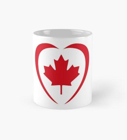 Canadian Patriot Flag Series (Heart) Mug