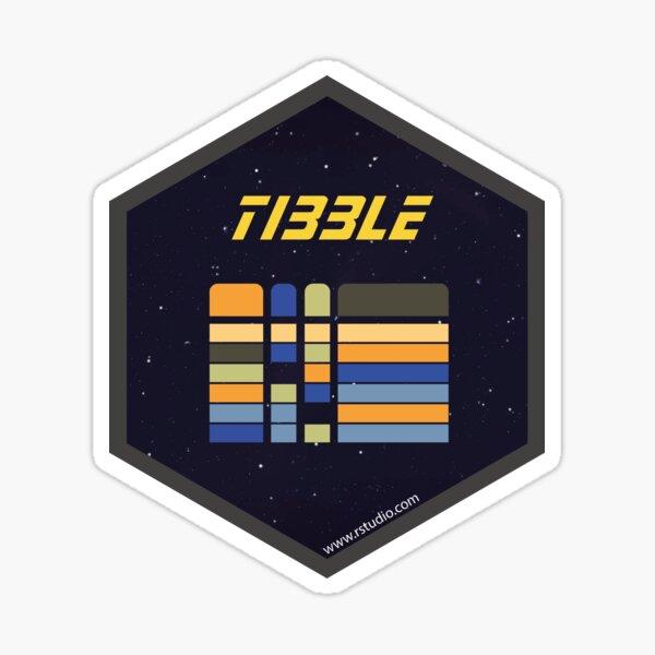 R rstudio tibble hex Sticker