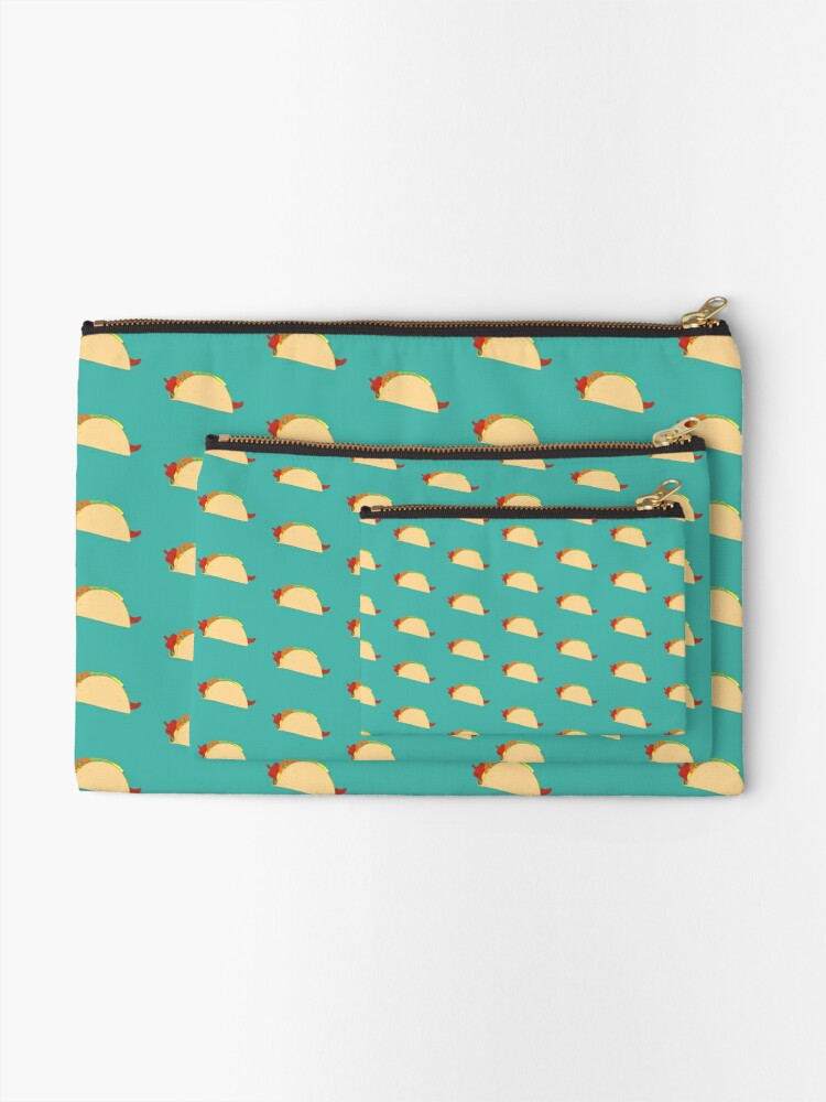 Alternate view of Simple Taco Zipper Pouch