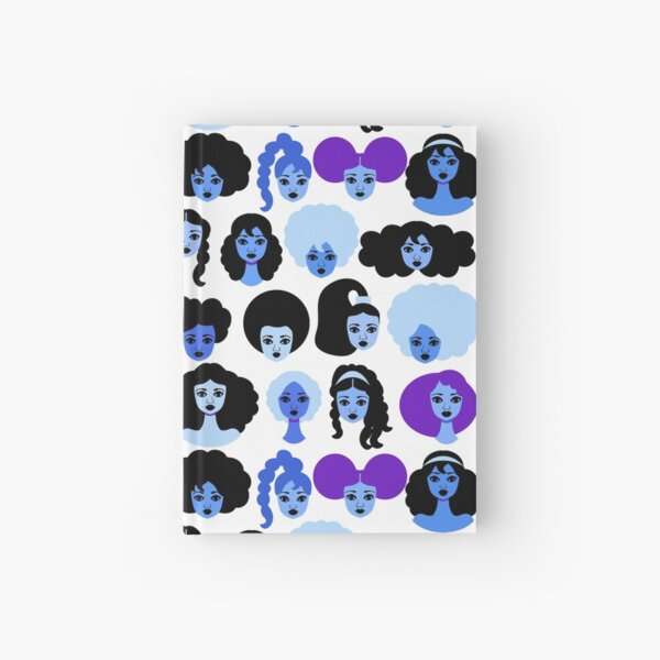 Shades of Blue Hardcover Journal