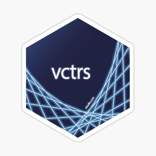 R rstudio vctrs hex Sticker