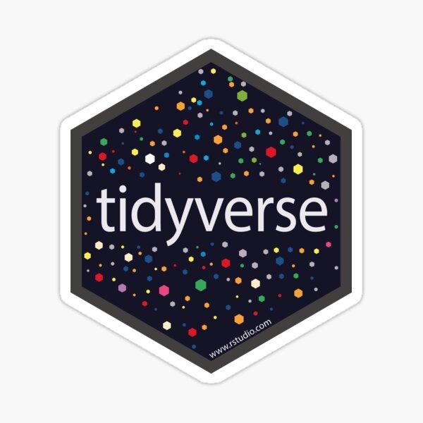 R rstudiotidyverse hex Sticker