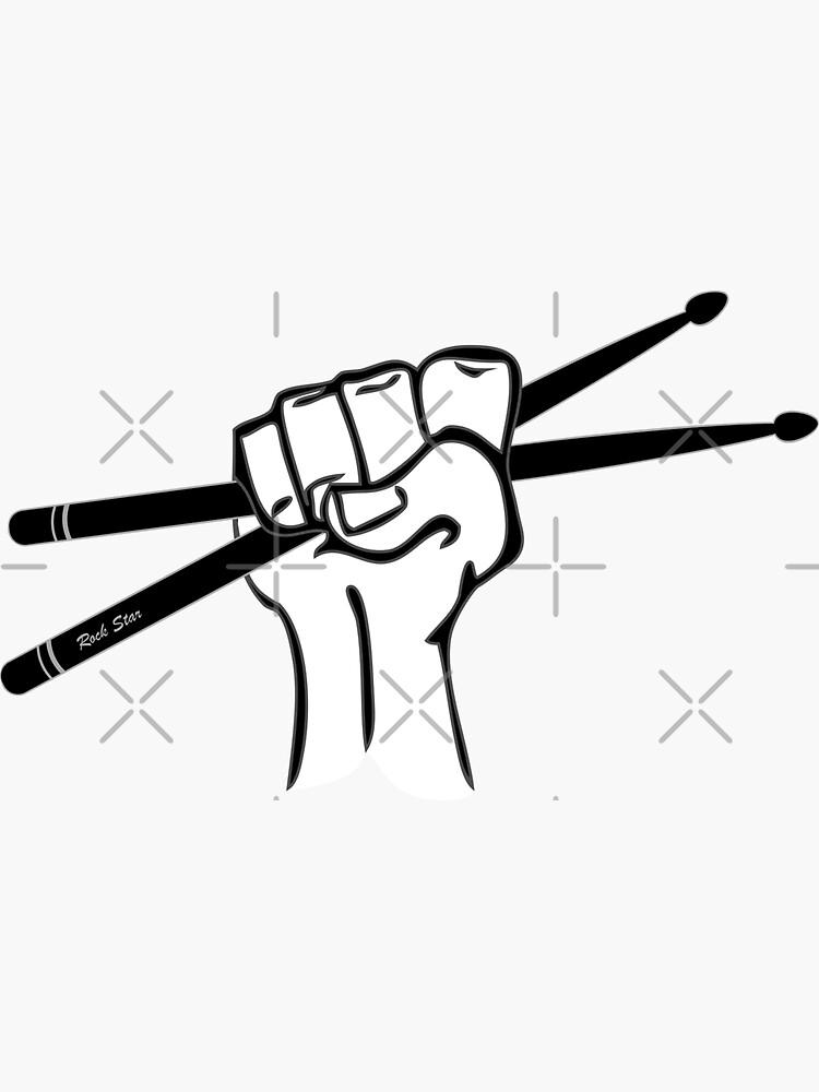 Drumsticks In Hand  by THPStock