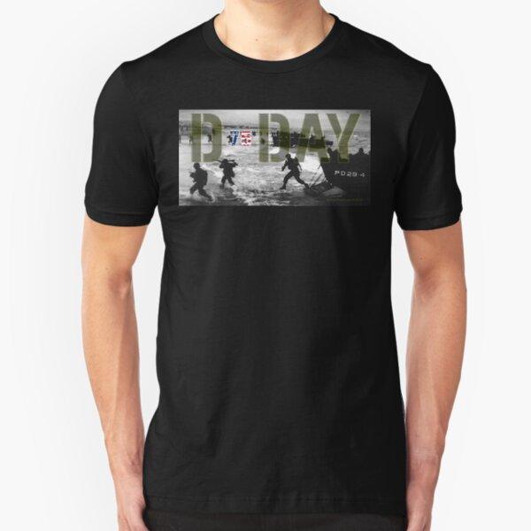 D-Day 75th Anniversary Slim Fit T-Shirt